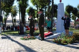 1 октября - 75 лет освобождения Краснопольщины от немецко-фашистских захватчиков