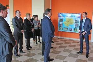 Открытие второй пусковой очереди физкультурно-оздоровительного комплекса на Краснопольщине