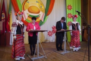 Торжественное собрание по подведению итогов социально-экономического развития Краснопольского района за 2015 год