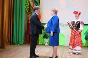 Торжественное собрание по подведению итогов социально-экономического развития Краснопольского района за 2019 год
