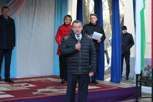 Торжественный пуск газа в агрогородке Ленина Краснопольского района