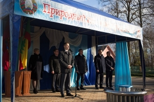 Торжественный пуск газа в агрогородке Горы  Краснопольского района