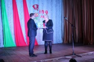 Награждение к 100-летию ВЛКСМ